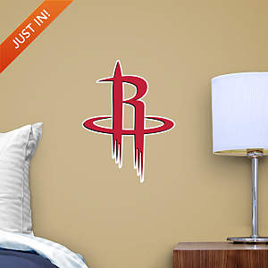 Houston Rockets Teammate Logo Fathead Decal